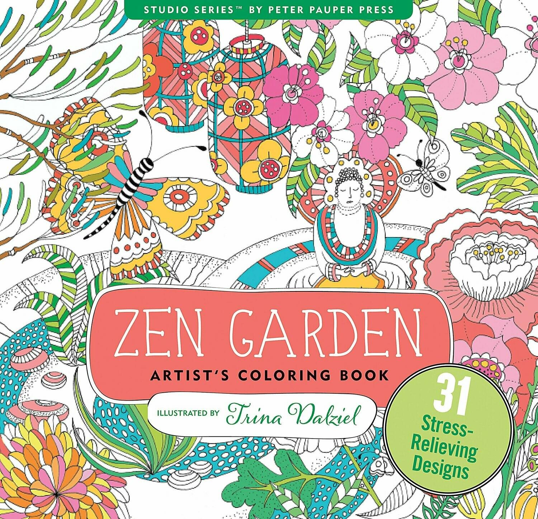 Zen Garden Adult Coloring Book