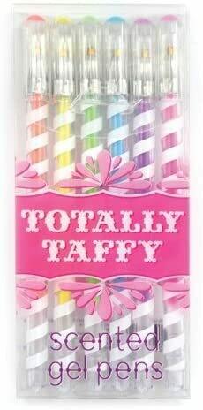 Totally Taffy Gel Pens - Set of 6
