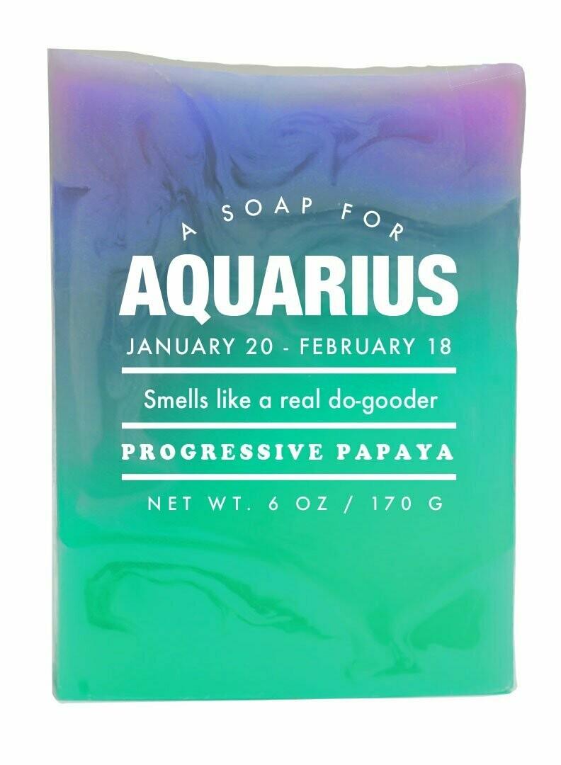 Aquarius Soap