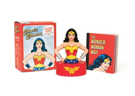 Wonder Woman Talking Figure