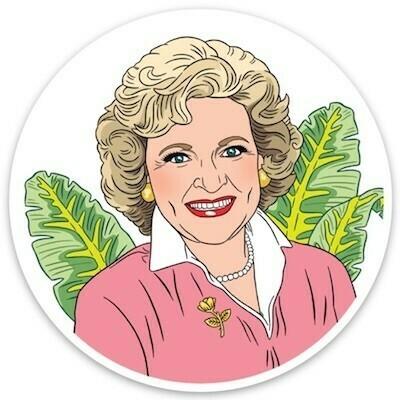Betty White Sticker