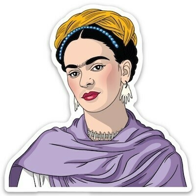 Die Cut Sticker: Frida Shawl
