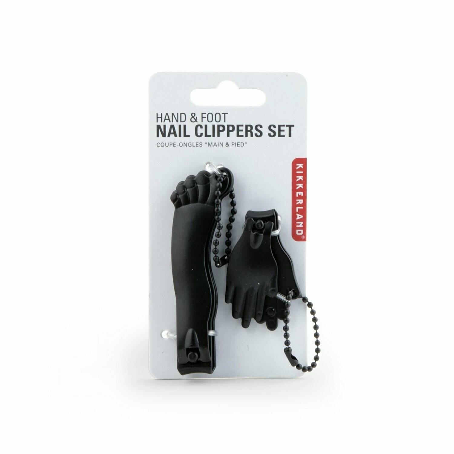 Black Hand & Foot Nail Clipper Set
