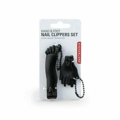 Black Hand & Foot Nail Clipper Set