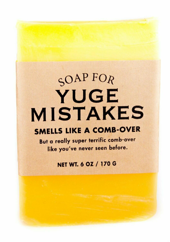 Yuge Mistakes Soap