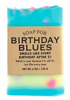 Birthday Blues- Soap