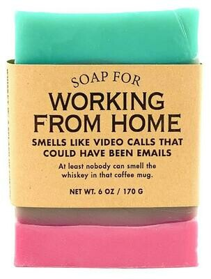 Working From Home Soap