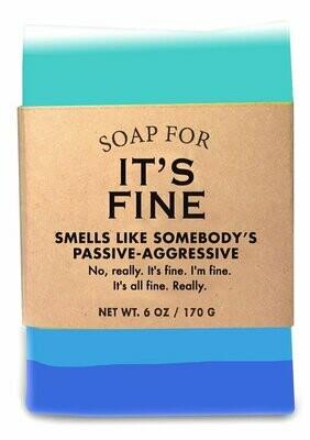 It's Fine - Soap