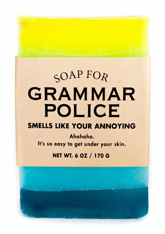 Grammar Police - Soap