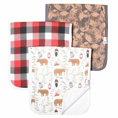 Burp Cloth - Lumberjack