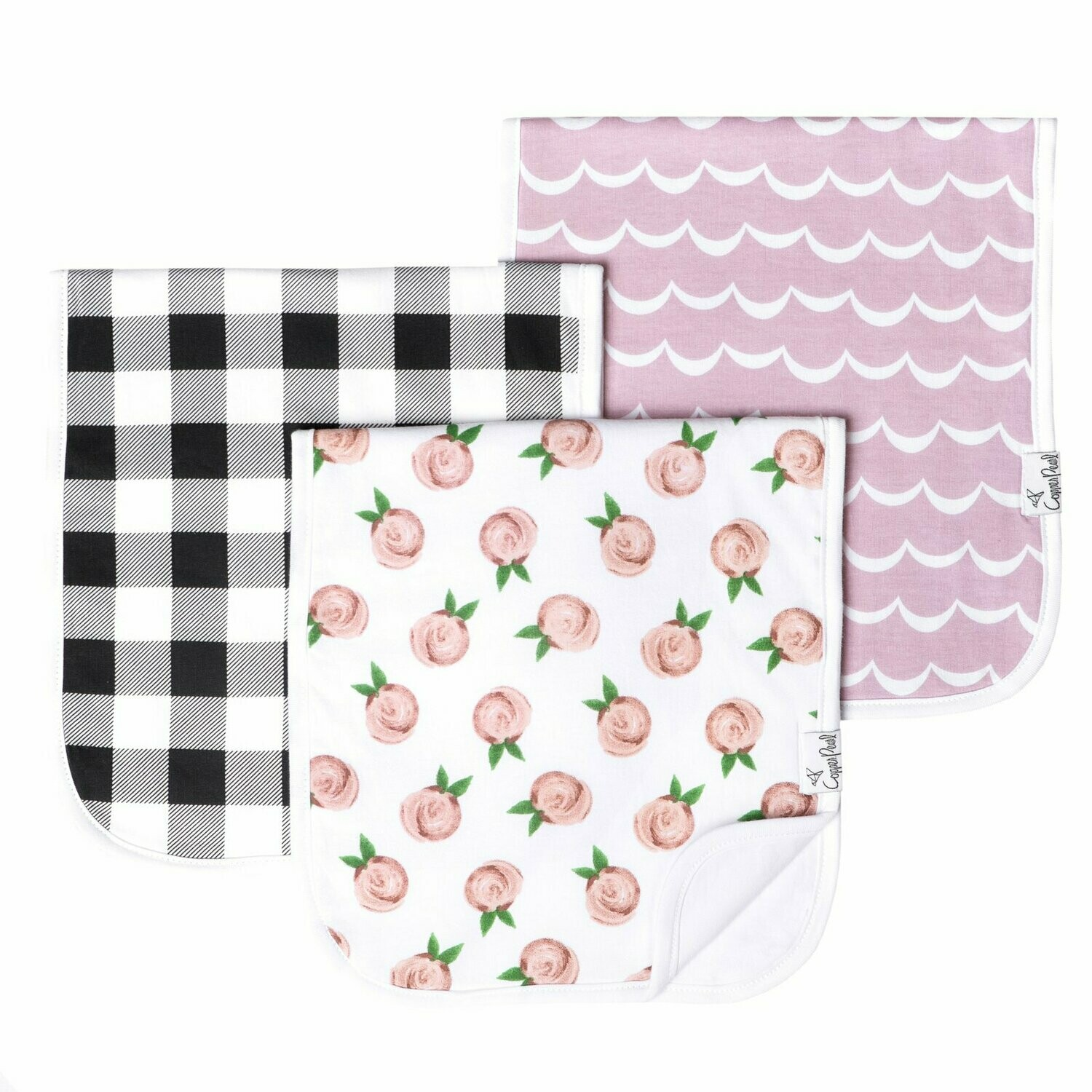 Burp Cloth - Rosie