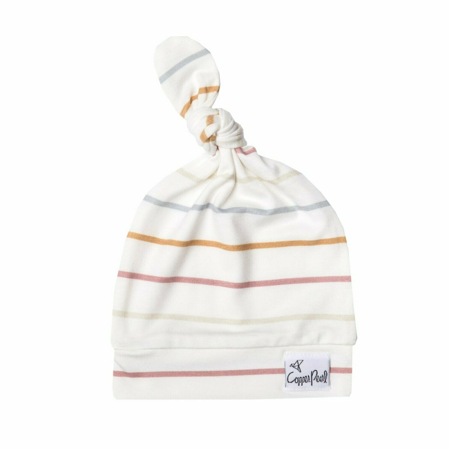 Newborn Top Knot Hat - Piper