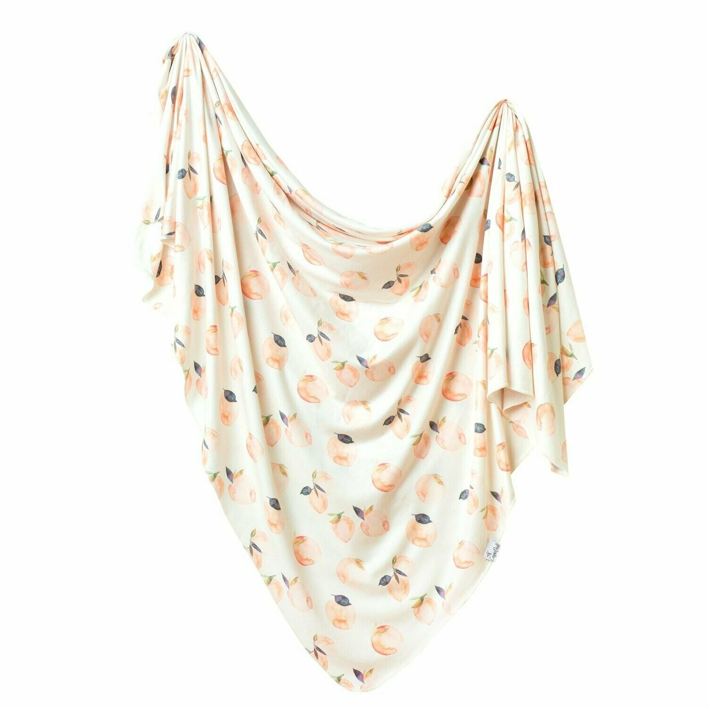 Single Knit Swaddle Blanket - Caroline