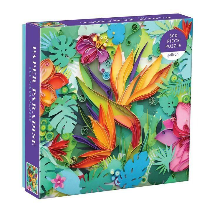 Paper Paradise - Puzzle