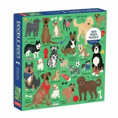 Doodle Dogs - Puzzle
