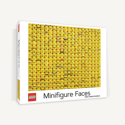 LEGO Minifigure Faces - Puzzle