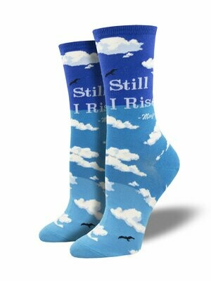 Still I Rise Blue- Women