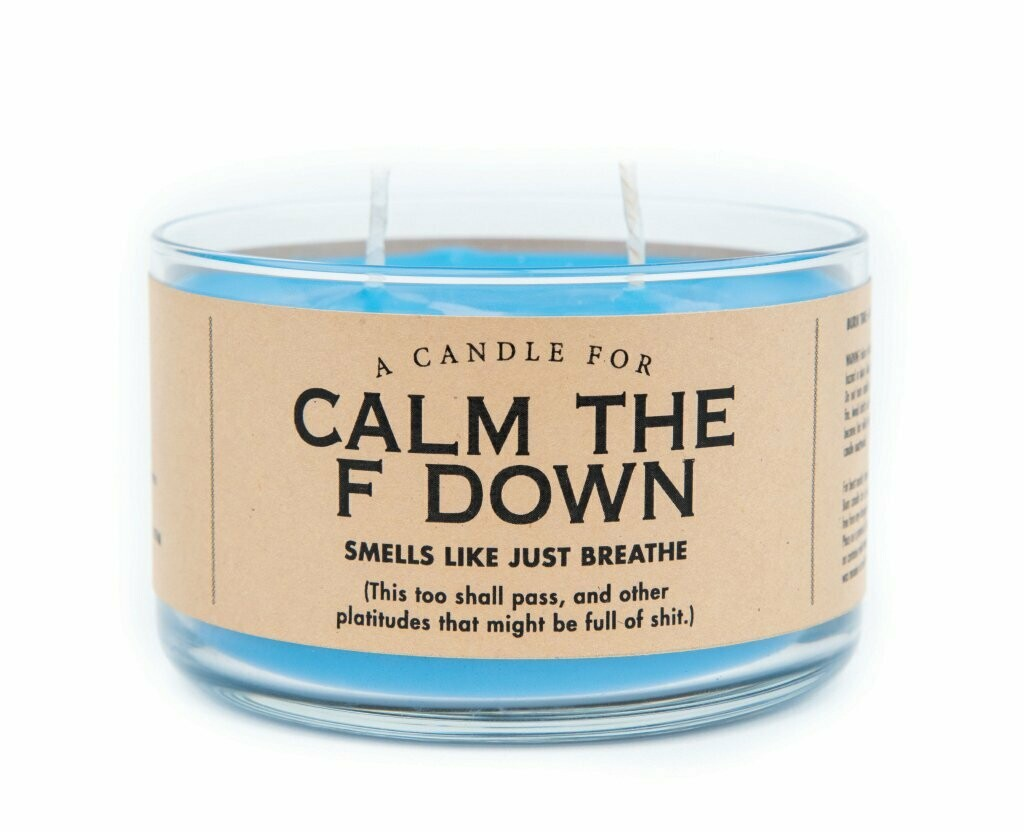 Calm the F Down - Candle