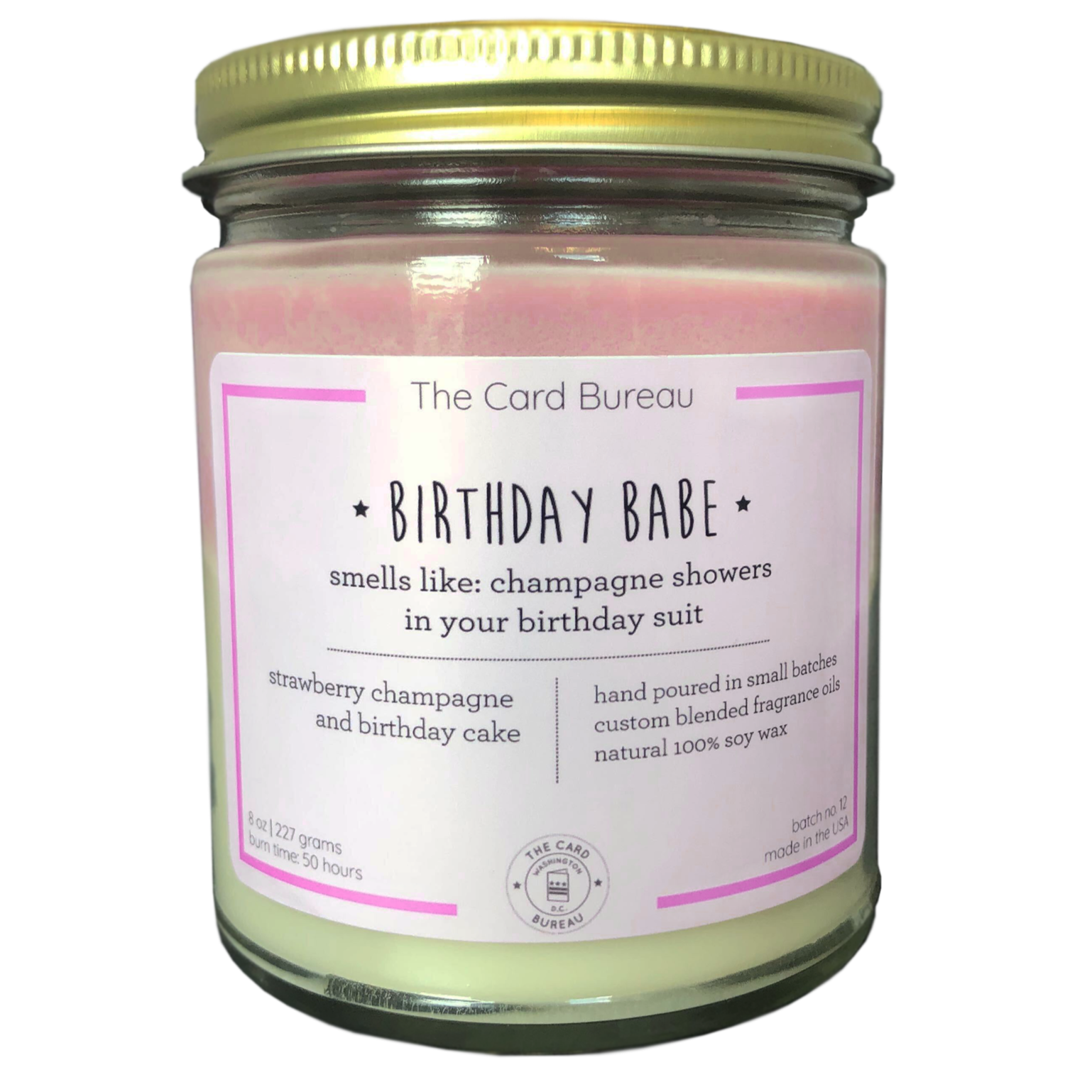 Birthday Babe, Layered Candle