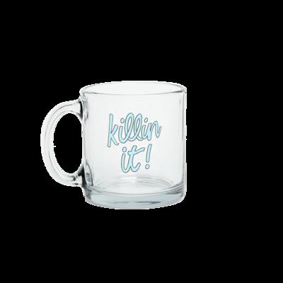 Killin It Glass Mug