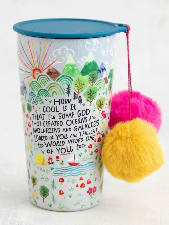How Cool is God Pompom Tumbler