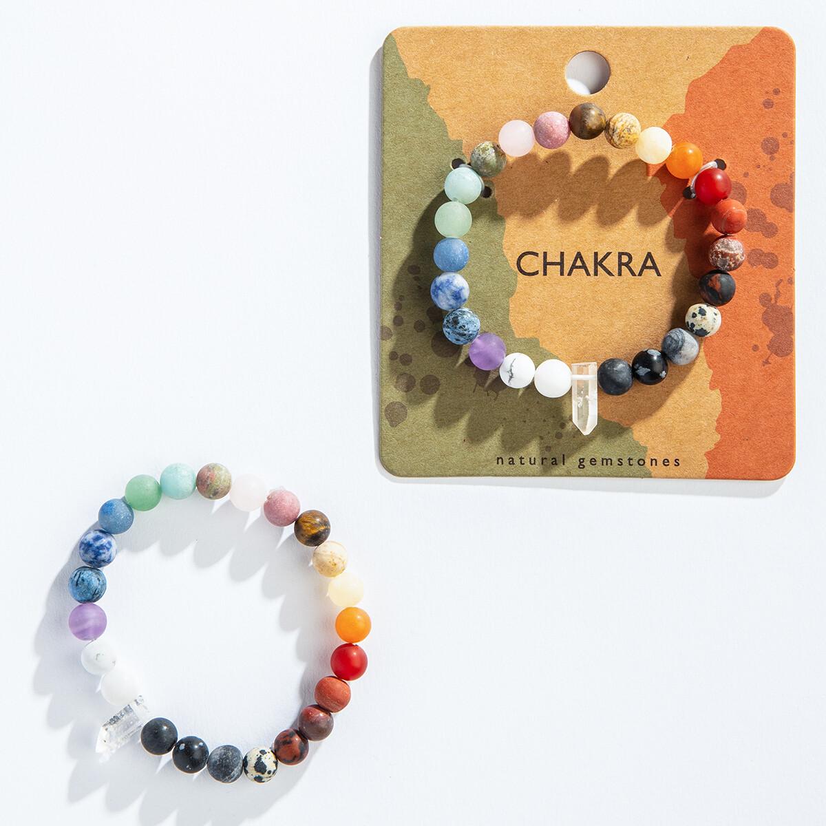 Chakra w/ Crystal Bracelet