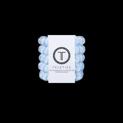 Washed Denim - Tiny Hair Ties