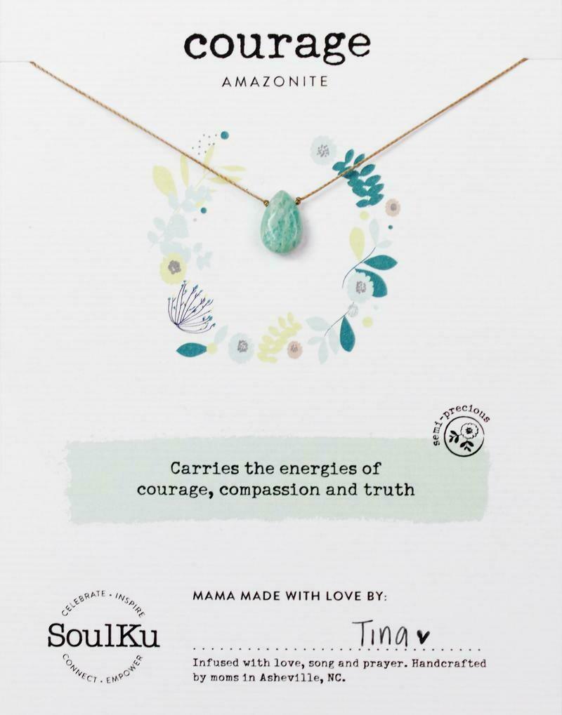 Courage Amazonite Necklace