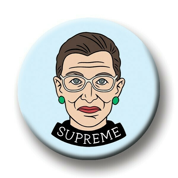 Round Magnet: Ruth Bader Ginsberg