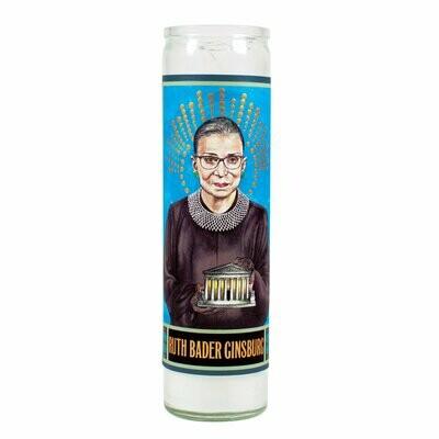 Ruth Bader Ginsburg Secular Saint Candle