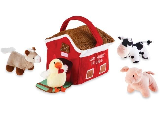 Farmhouse Plush Set