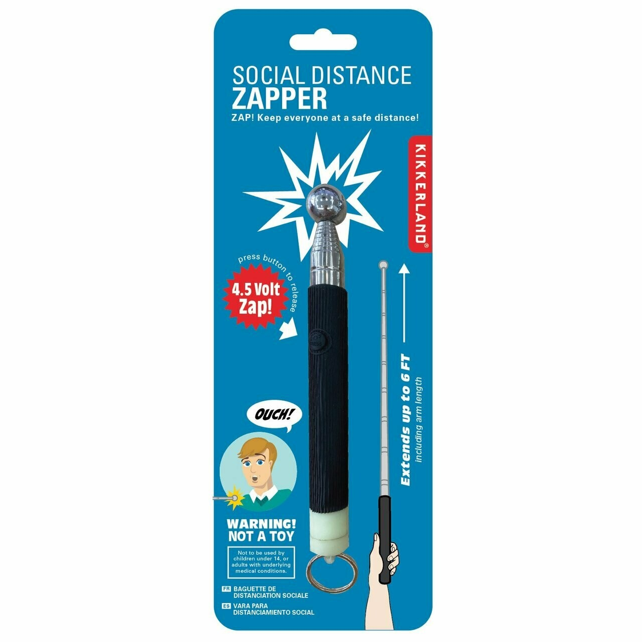 Social Distance Zapper