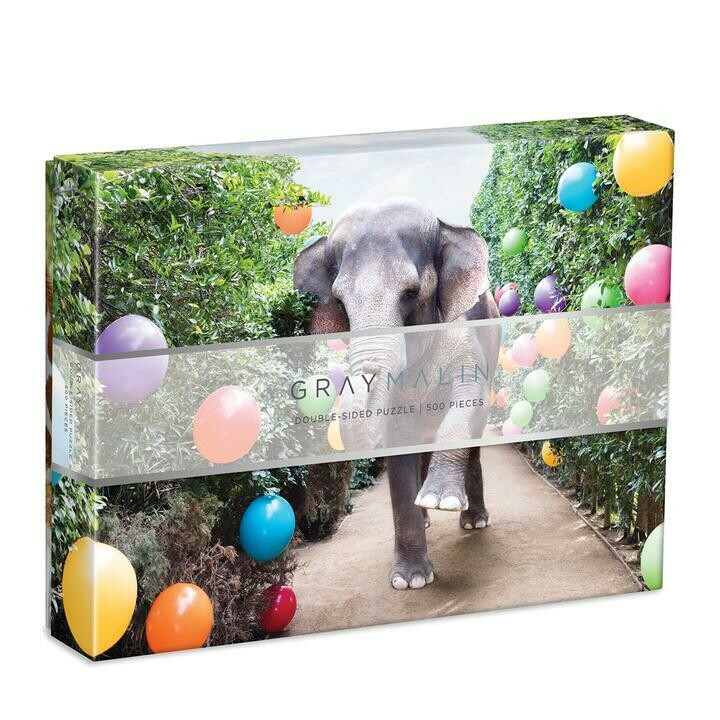 Double Sided + Postcard Gray Malin Parker - Puzzle