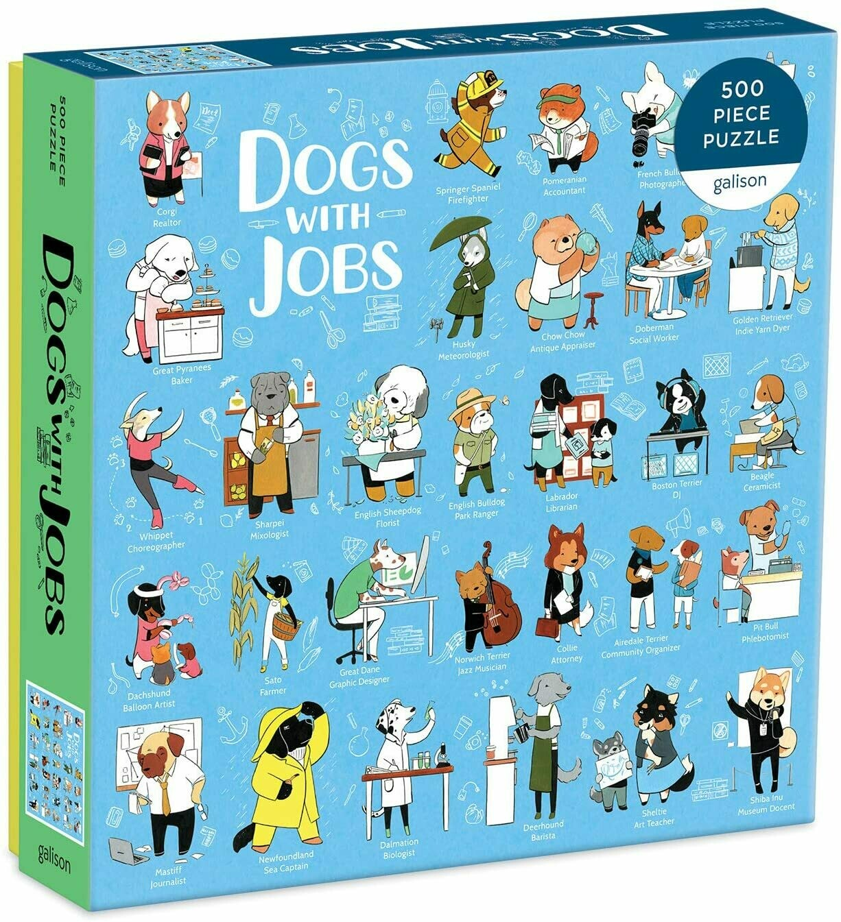 Dogs With Jobs Puzzle