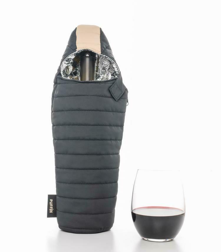 Black & Tan Wine Beverage Bag