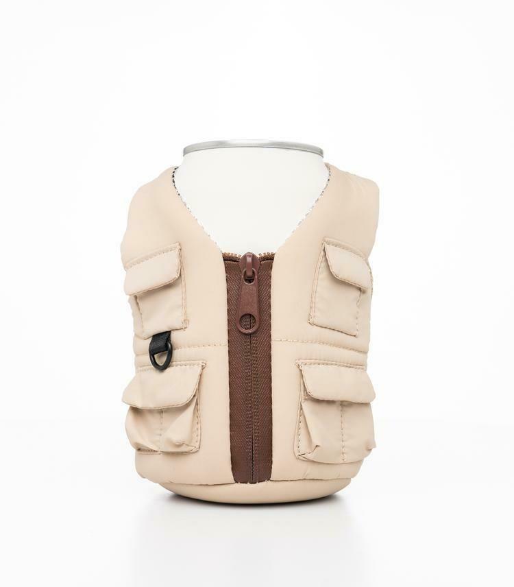 Classic Tan Beverage Adventure Vest