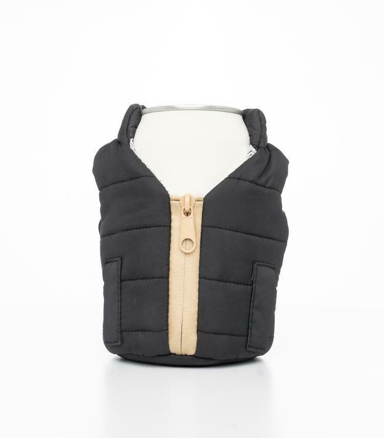 Black & Tan Beverage Vest