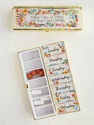 Will Not Stress Daily Pill Box