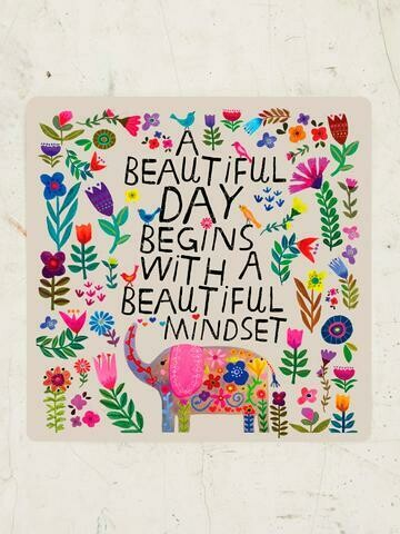 Beautiful Day Vinyl Sticker