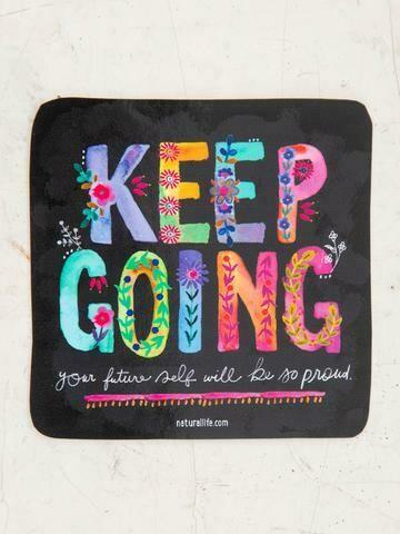 Keep Going Vinyl Sticker