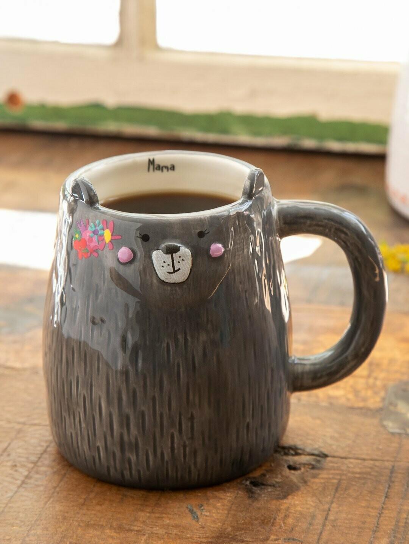 The Mama Bear Folk Art Mug