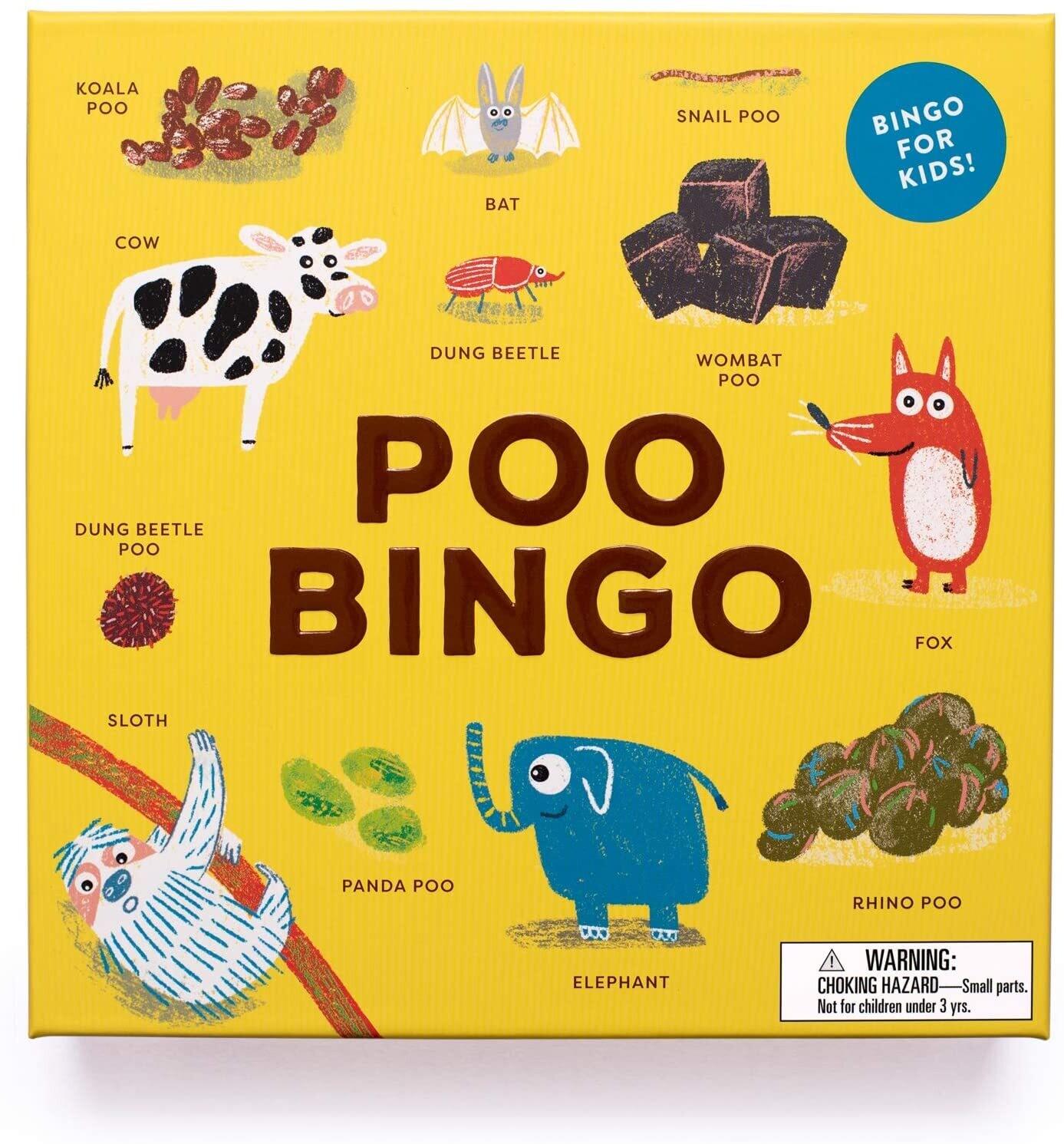Poop Bingo