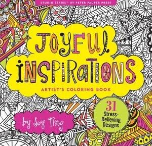 Joyful Inspirations Adult Coloring Book