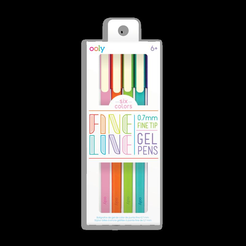Fine Line Gel Pens