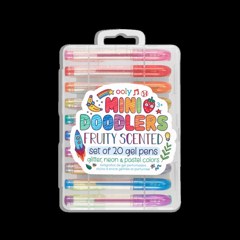 Mini Doodlers Fruity Scented Gel Pens