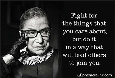 Fight for the things you care about…