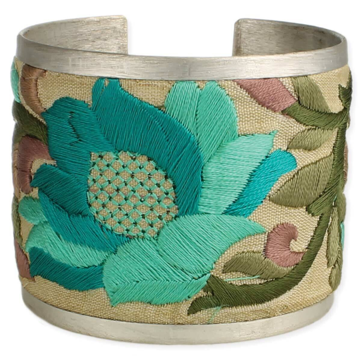 TQ FLWR Embroidered Cuff