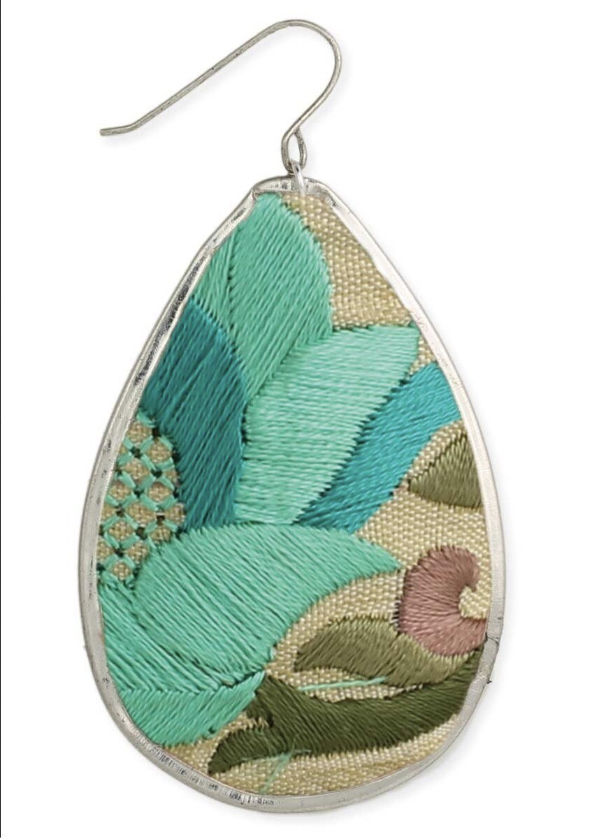 TQ Embroidered Earring