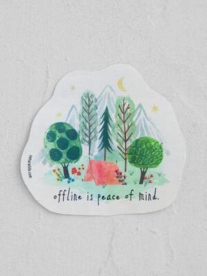 Peace Of Mind Vinyl Sticker