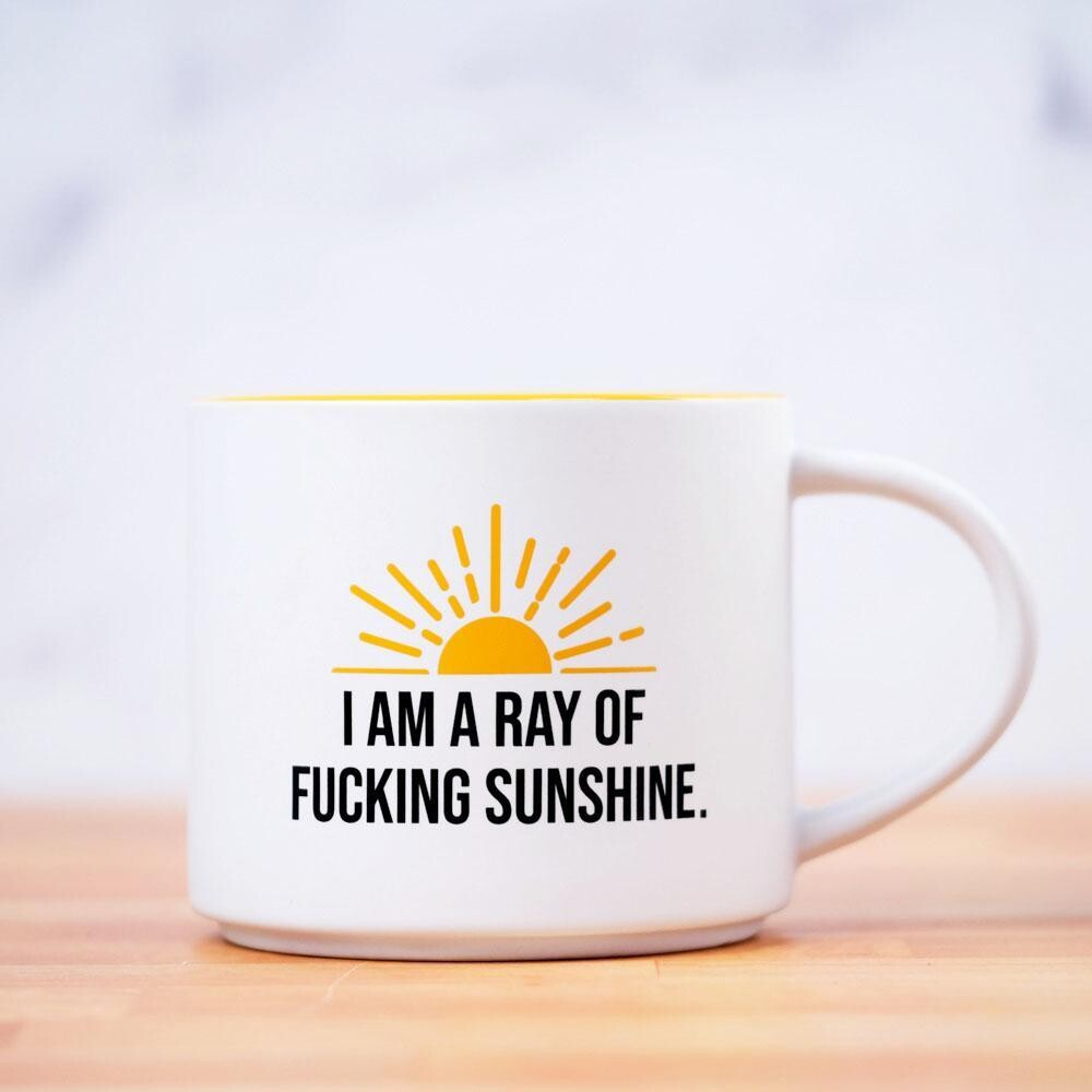 Ray Of Sunshine White Mug